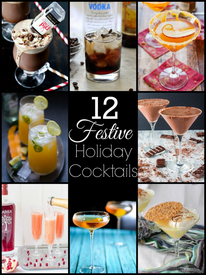 12 Festive Holiday Cocktails