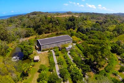 Conservatory at Blue Harbor Tropical Arboretum