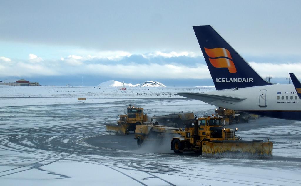 snowed in runway photo