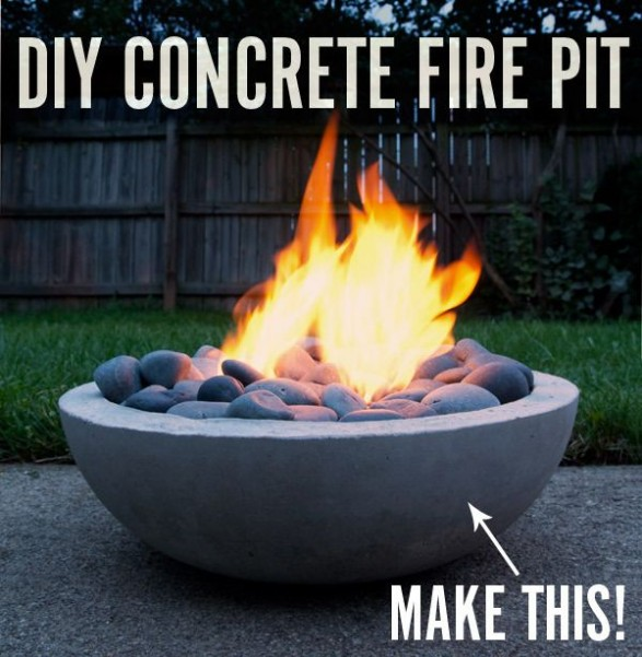 Mini Of Monrovia >> DIY – Mini Concrete Fire Pit – Dan330