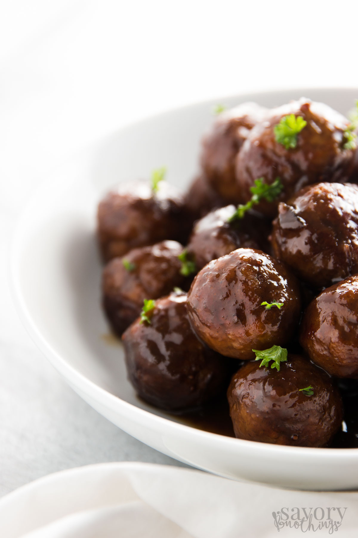 turkey slow cooker meatballs