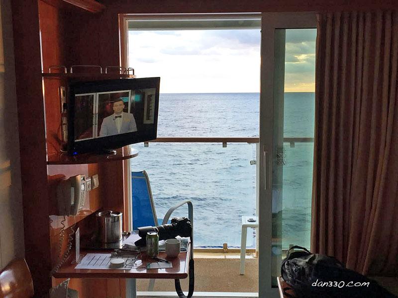 Cabin on the Norwegian Dawn