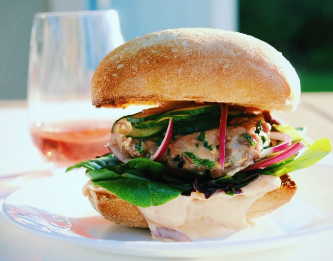 This Thai Fusion Ahi Tuna Burgers recipe is a guest contribution ...