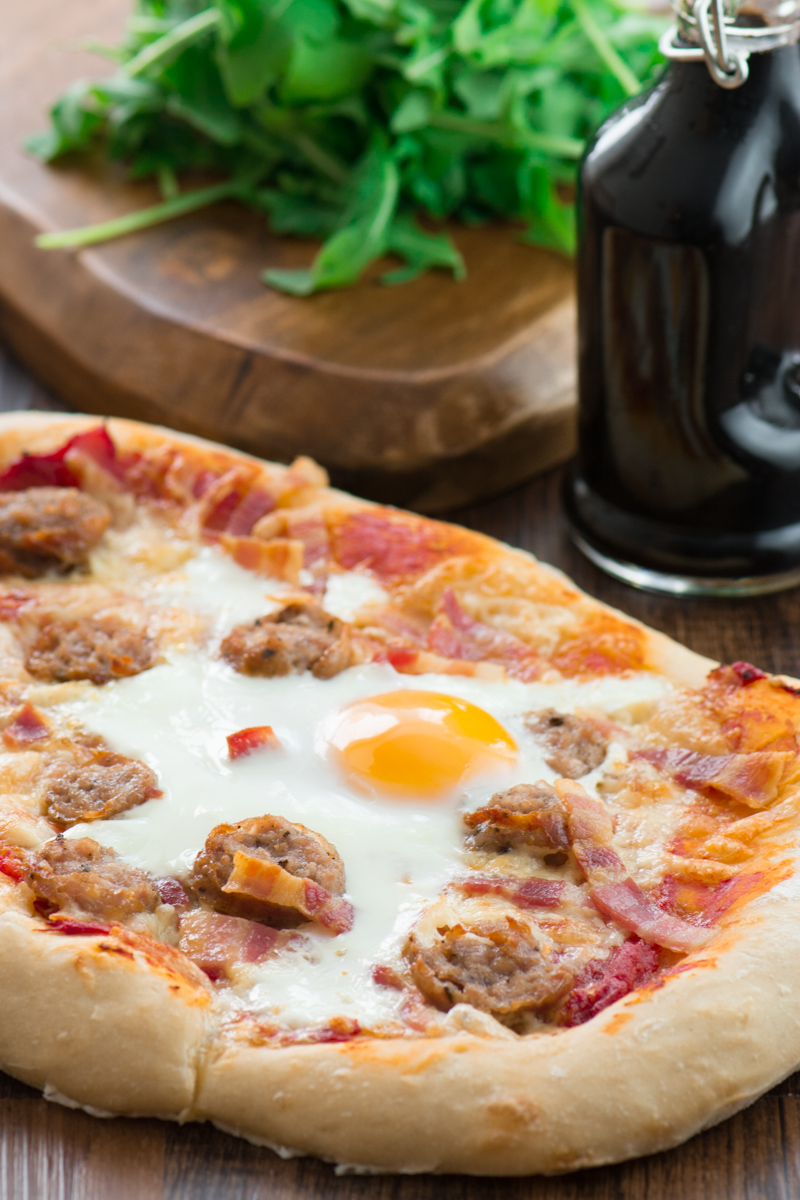 All-day breakfast pizza 2