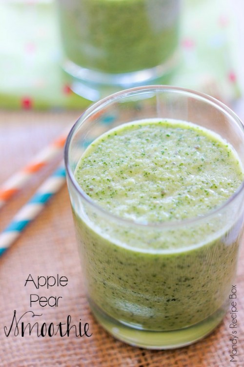 Apple Pear Smoothie