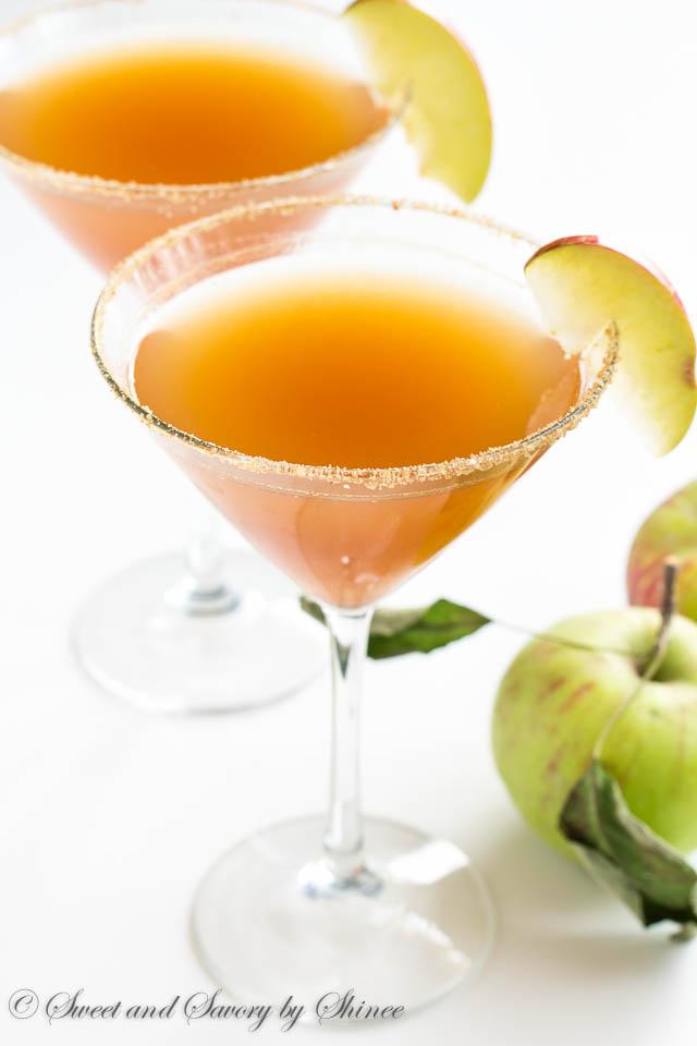 Apple Pie Martini-6