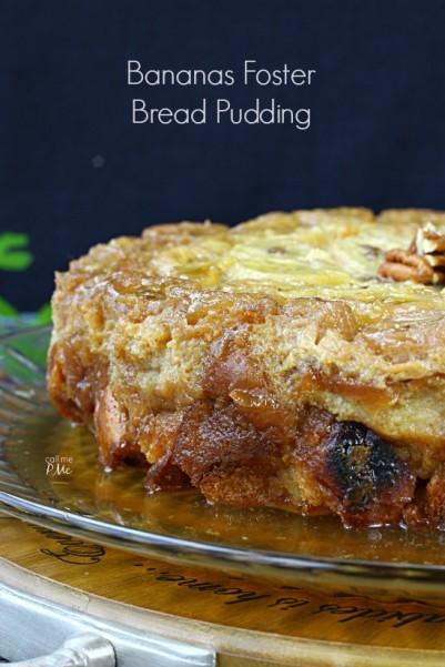 Bananas Foster Bread Pudding Recipe 7w