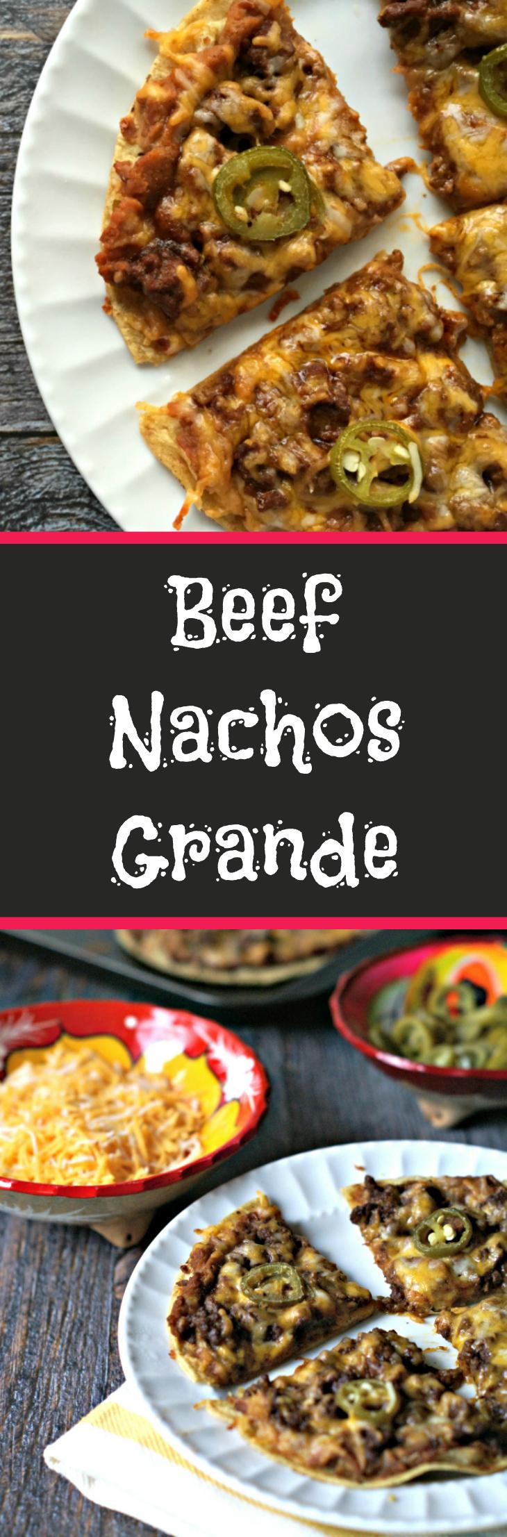 Beef Nachos Grande