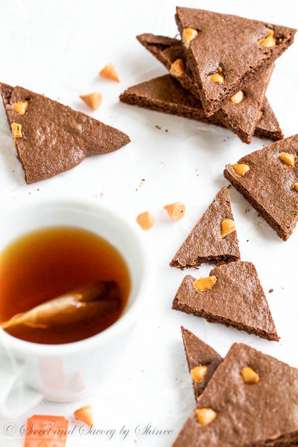Butterscotch Brownie Brittles