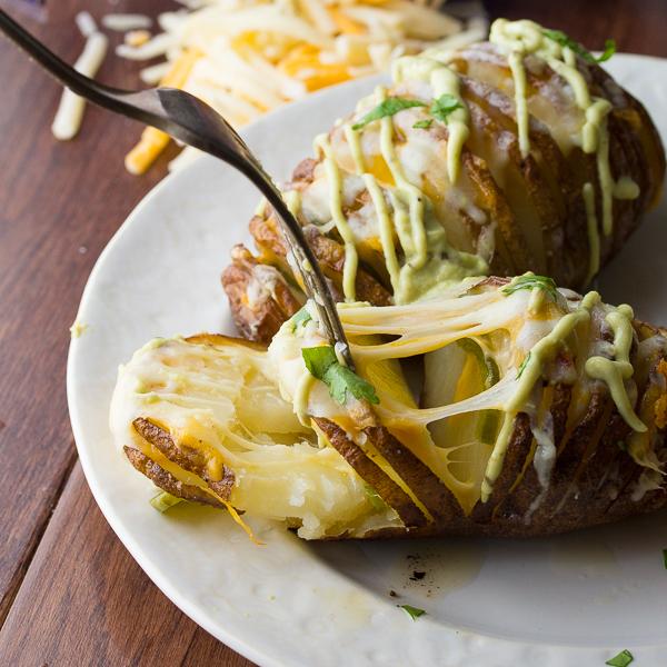 Cheesy-Jalapeño-Hasselback-Potatoes-with-Avocado-Cream-Sauce-10