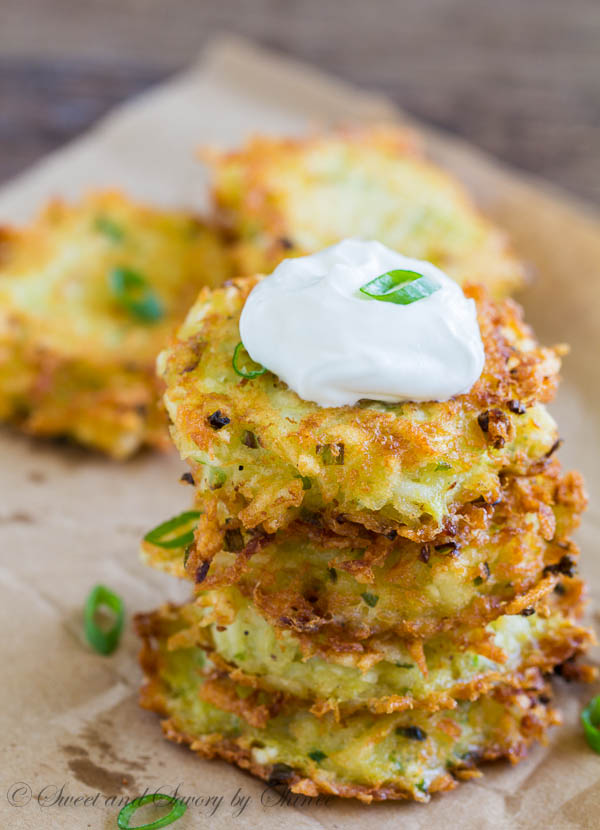 Cheesy Potato Pancakes-1