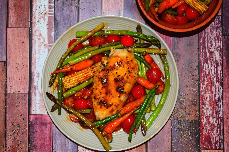 Balsamic Chicken Stir Fry
