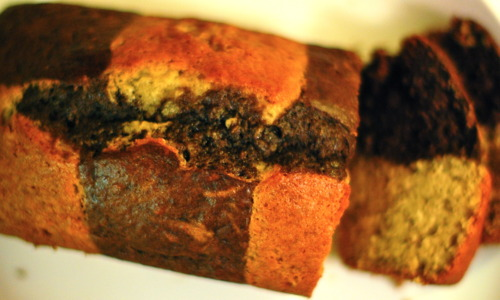 Chocolate-Checkered-Banana-Bread