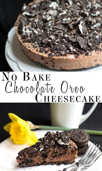 Chocolate Oreo Cheesecake 2