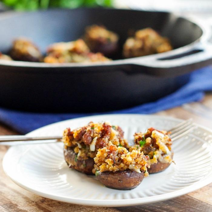 Chorizo-manchego-stuffed mushrooms-1