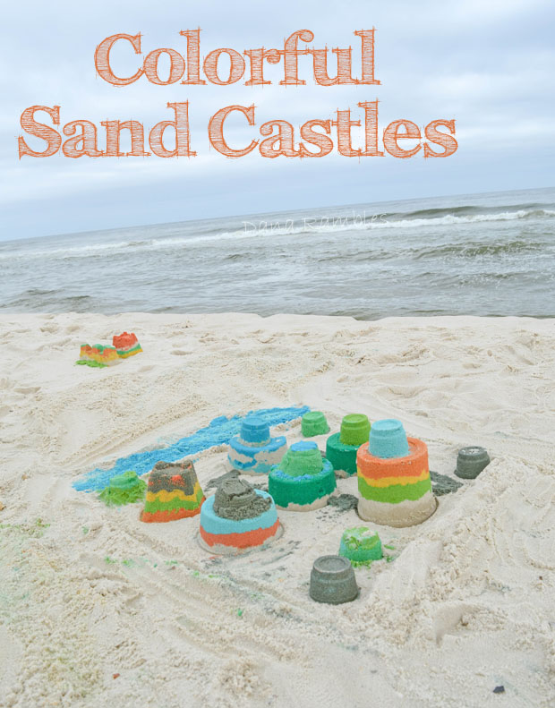 Colorful-Sand-Castles-Beach-Craft