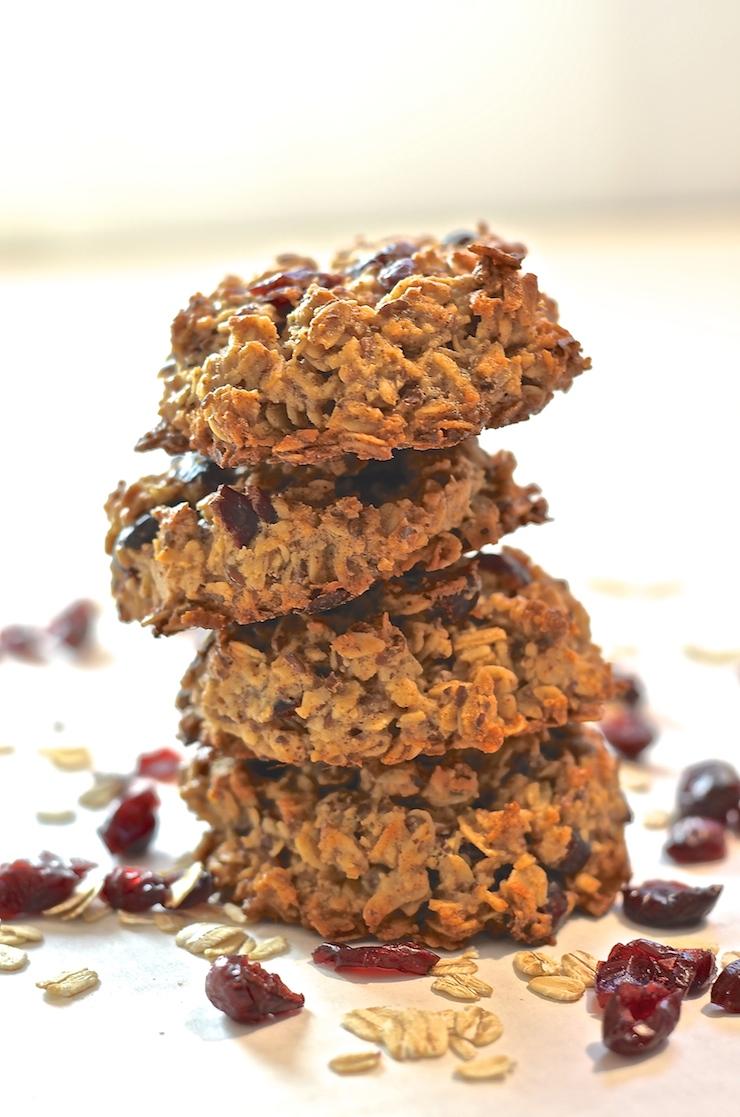 Cranberry & Coconut Breakfast Cookies