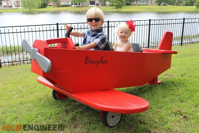 DIY Airplane Play Structure Plans - Rogue Engineer 1