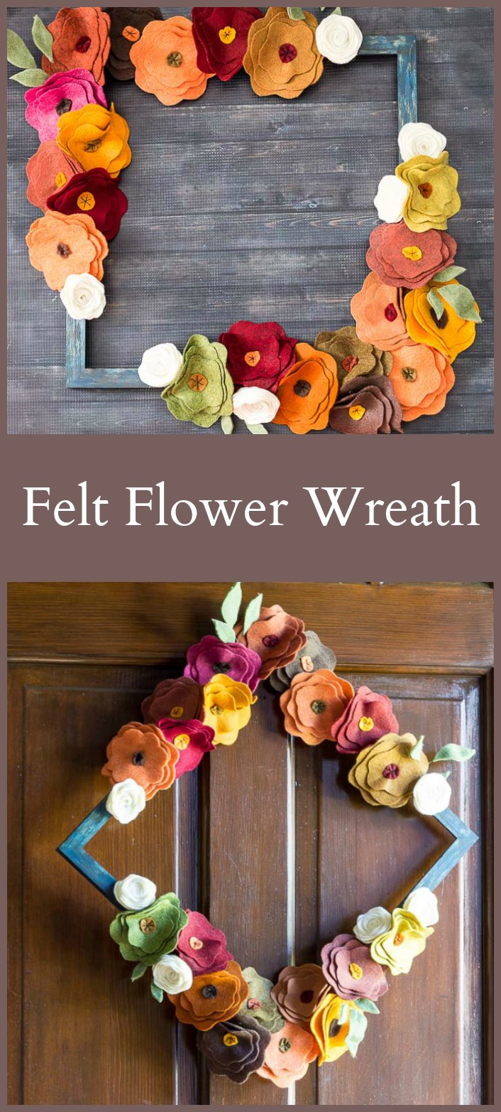 diy-felt-flower-wreath