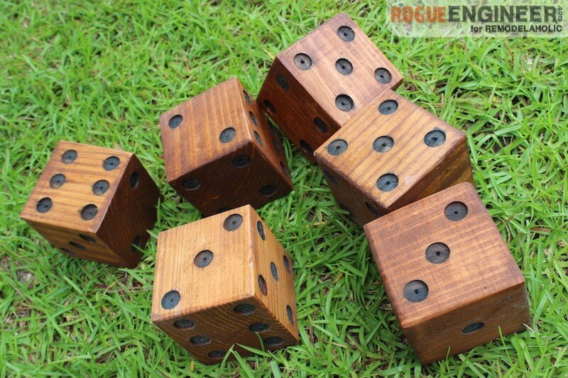 DIY Yard Dice - Rogue Engineer 31