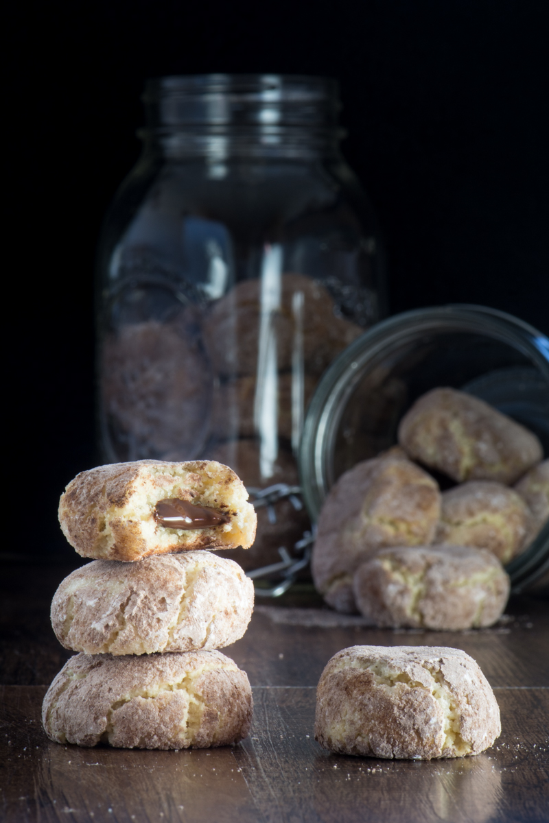 Dark Chocolate Amaretti Biscuits 5