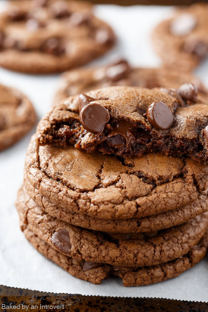 Double Chocolate Nutella Cookies_680-5