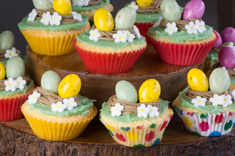 Easter Nest Cupcakes 1