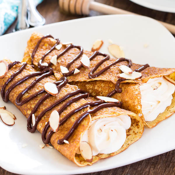 Honey Almond Crepes