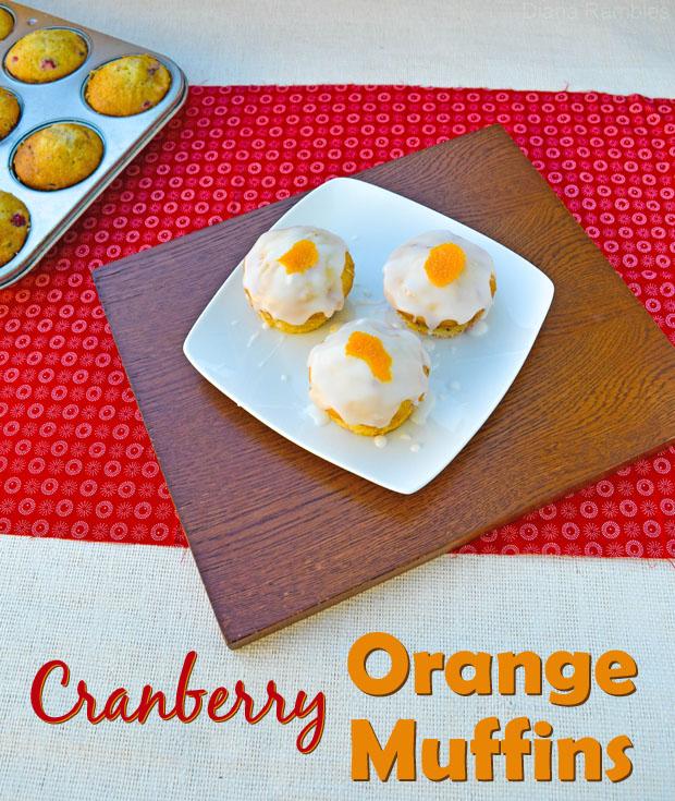 Fresh Cranberry Orange Muffins