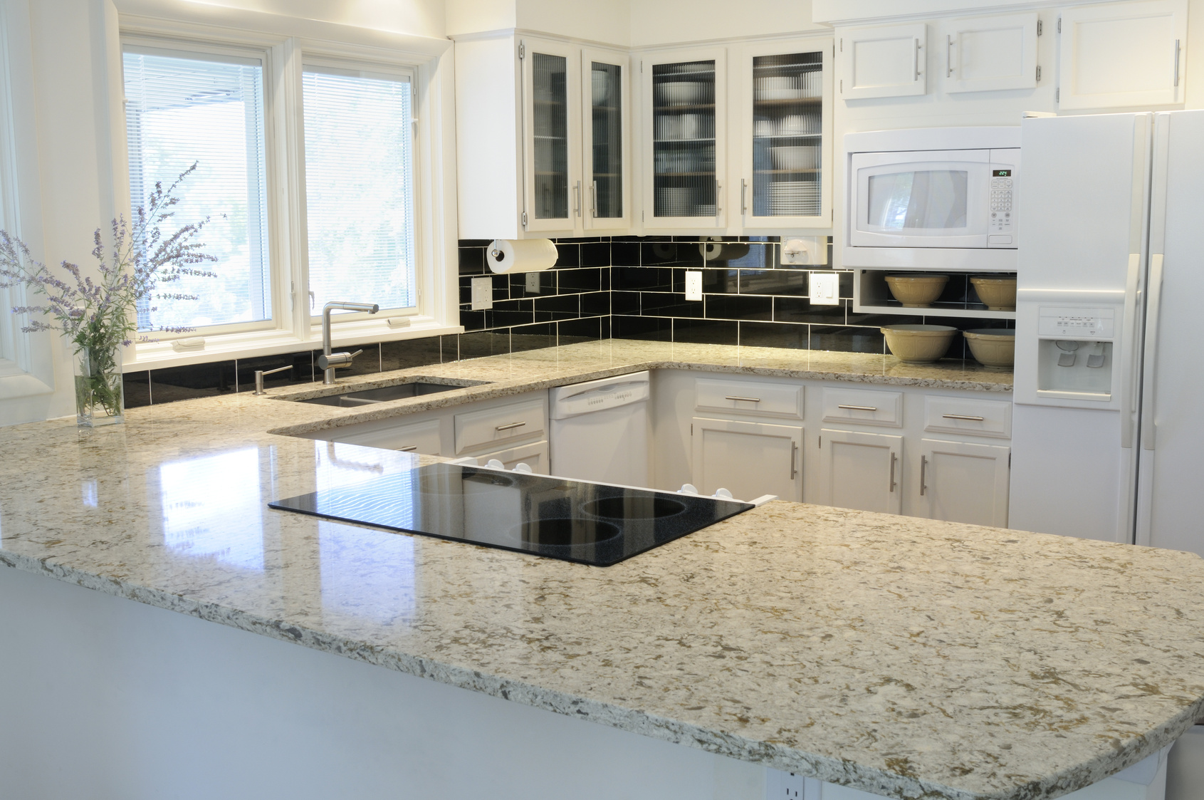 Granite Kitchen Benchtops Granite Benchtops A Wiser Choice For Kitchen Decoration Dan330