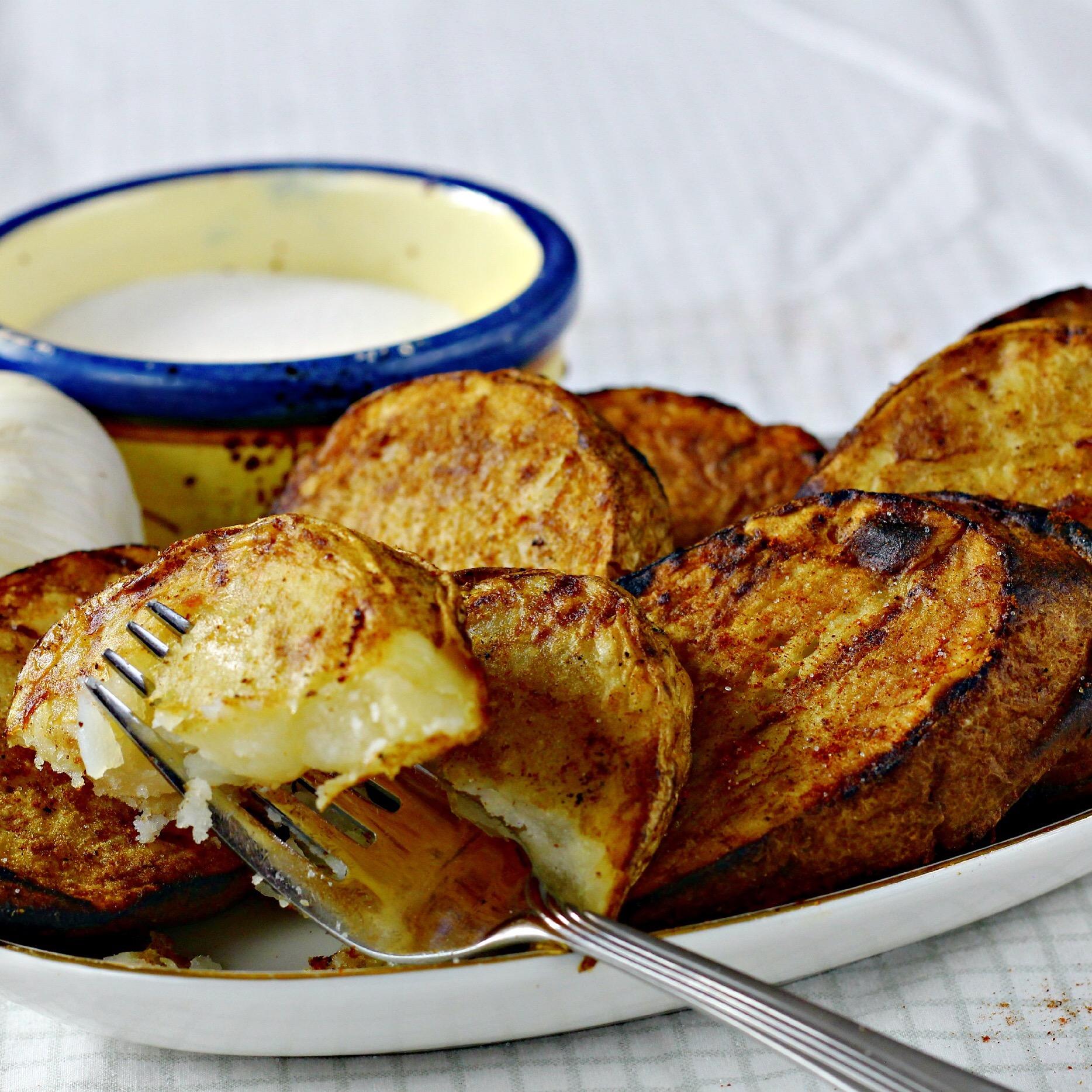 Grilled Potato Recipe 2