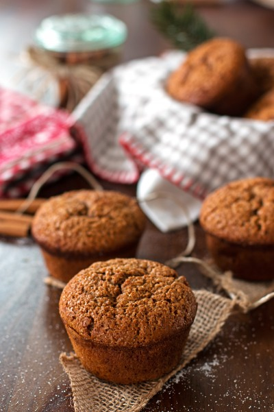 Healthy-Triple-Ginger-Gingerbread-Muffins-Christmas-Holiday-Baking-Recipe-Clean-Eating-5