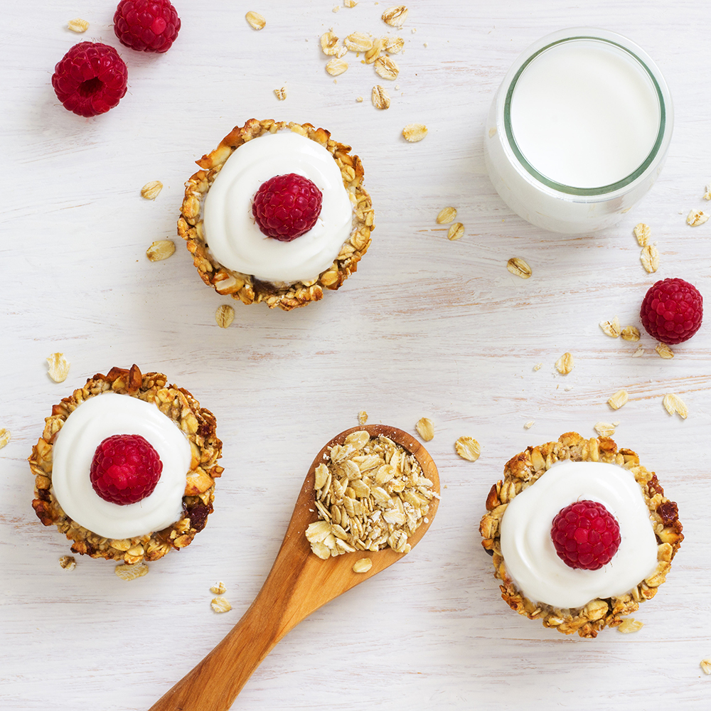 Heavenly Baked Breakfast Oatmeal Cups FG
