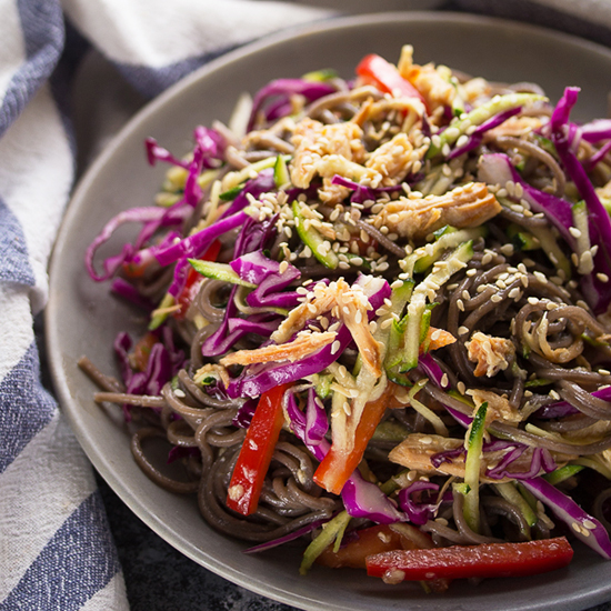 Honey Sesame Soba Noodle Salad-FG