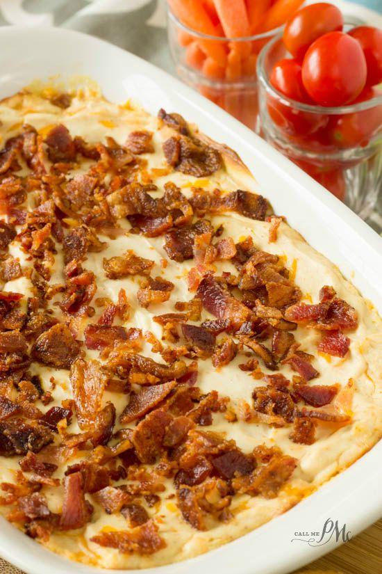 Hot Bacon Cheesy Dip Recipe 2w