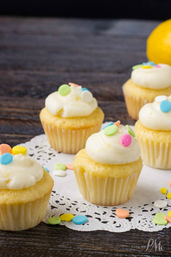 How to make Lemon Mini Cupcakes 1w