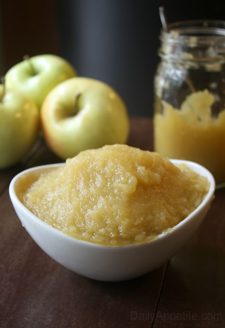 How to make applesauce Tall
