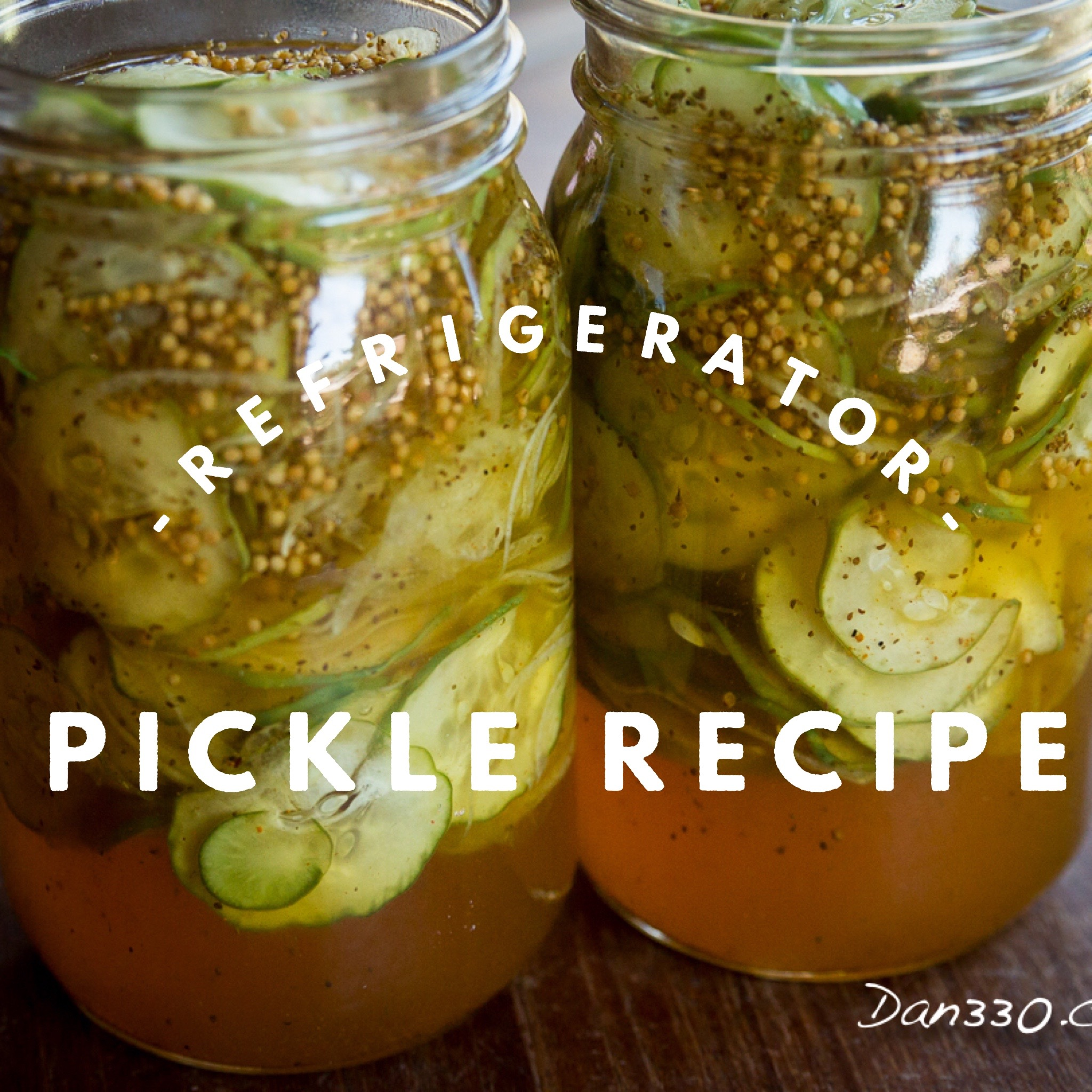 refrigerator pickle recipe