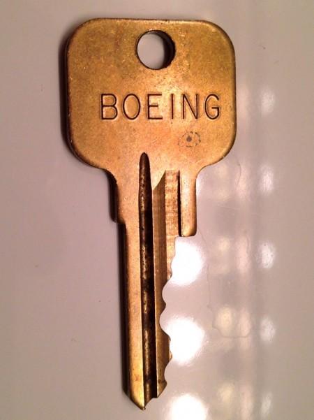 Cockpit Door Key (pre- 9/11)