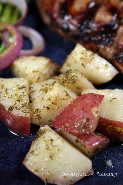 roasted red potatoes | greek potatoes
