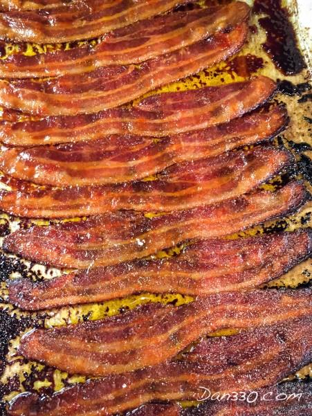 candied sriracha bacon