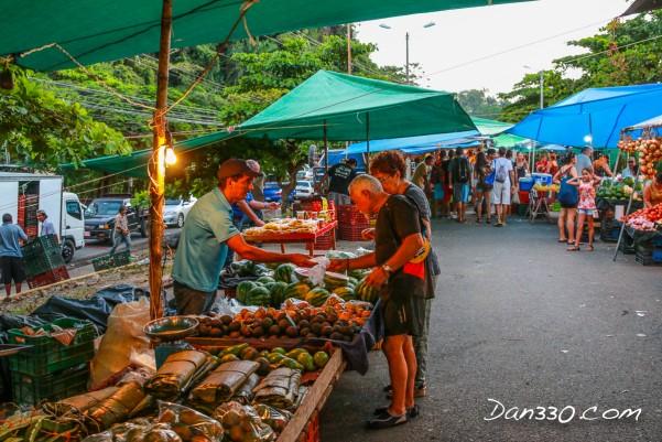 Quepos market