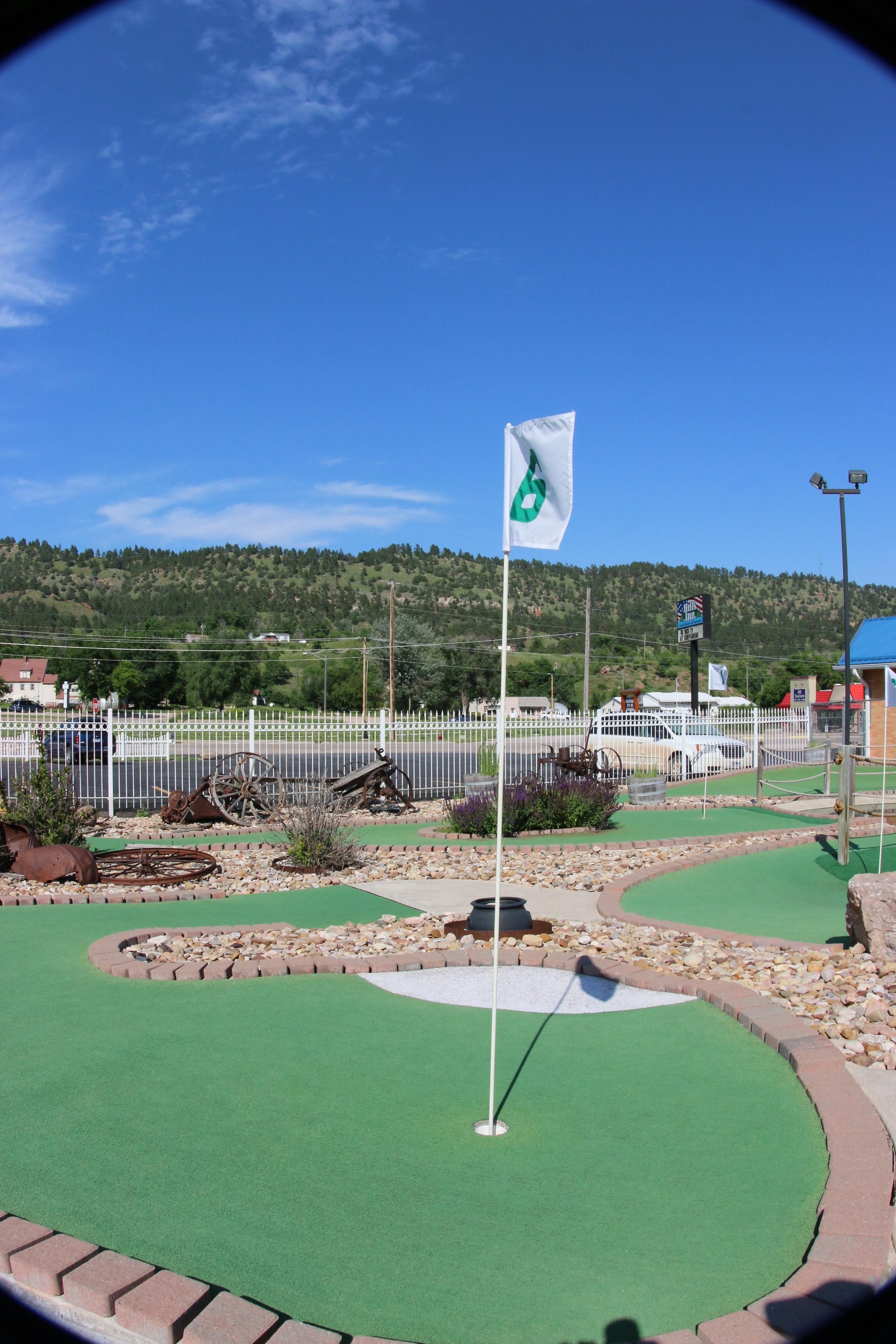 Mini Golf at Hills Inn