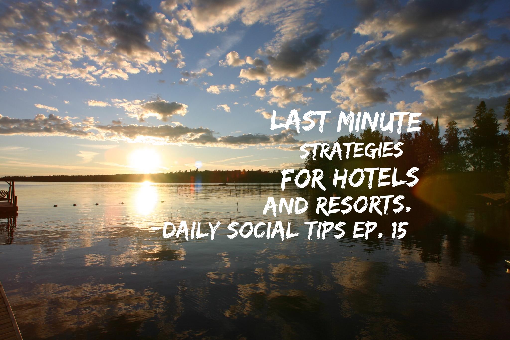 strategies for resorts