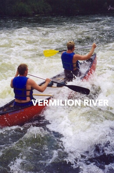 canoe the vermilion river