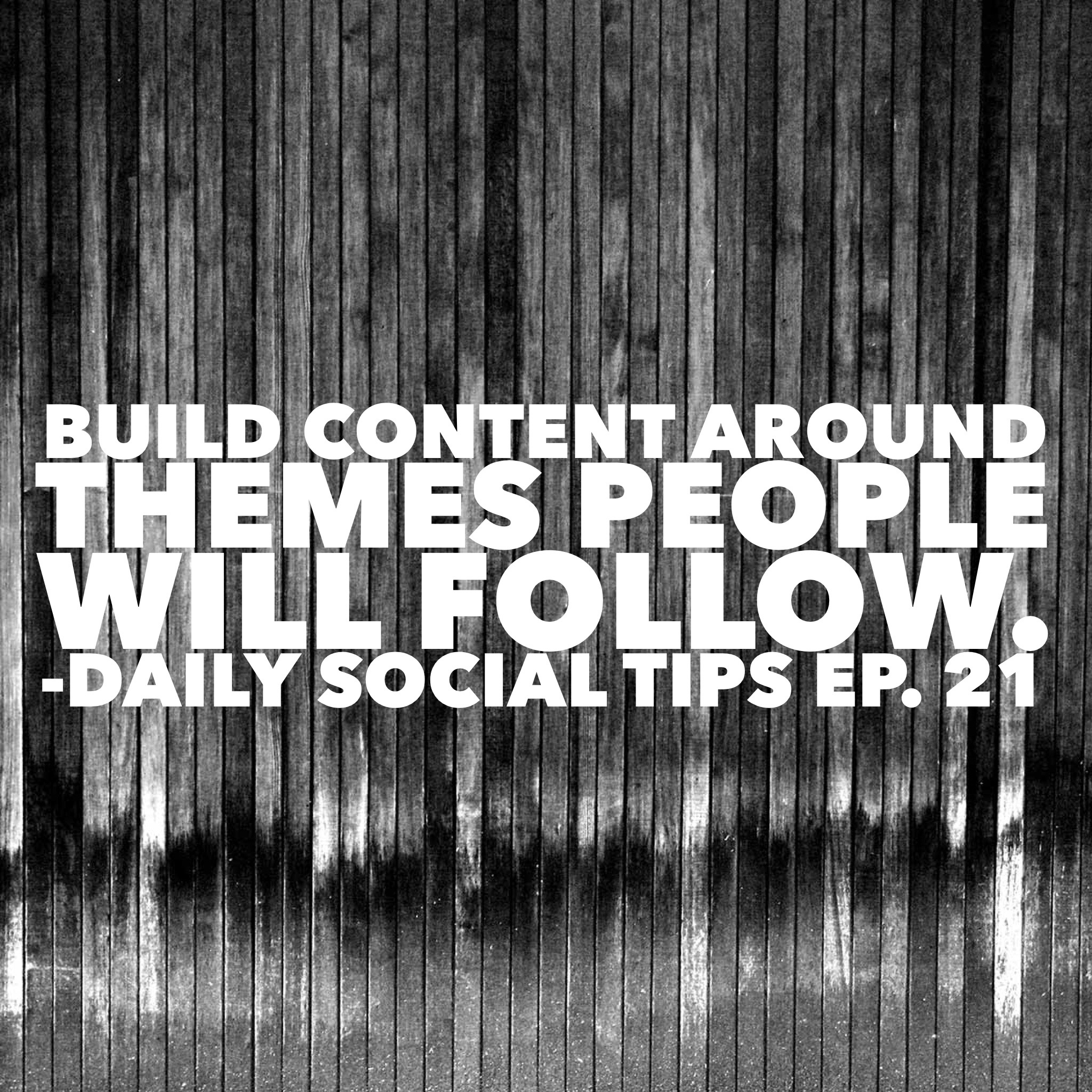 build content around themes