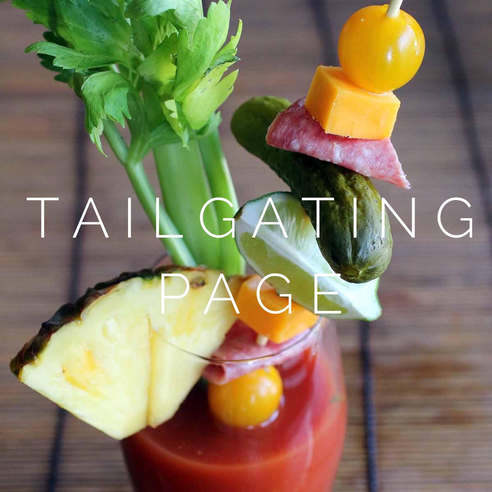 tailgating page