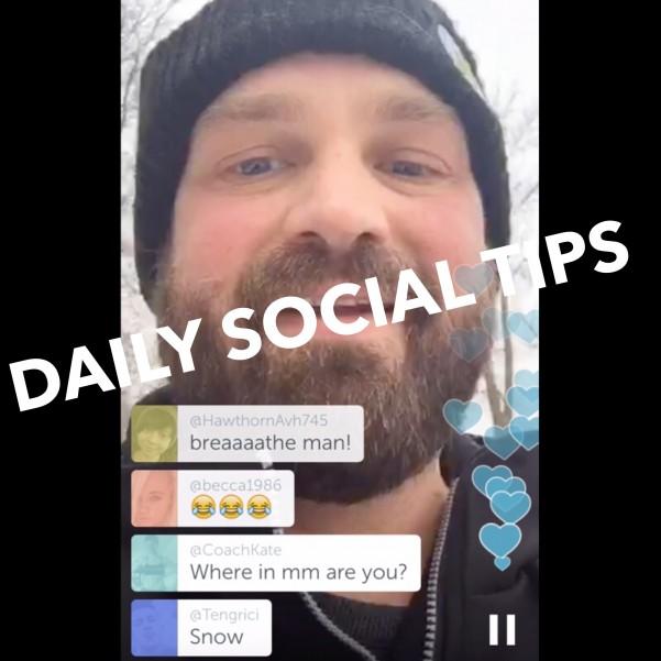 daily social tips