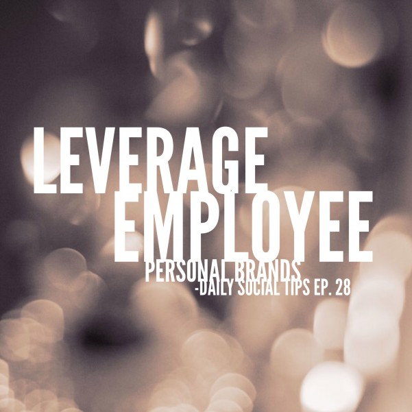 leverage employee personal brands