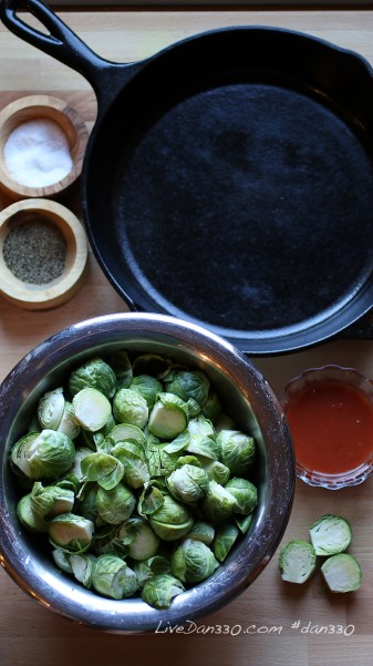 red hot brussel sprout ingredients